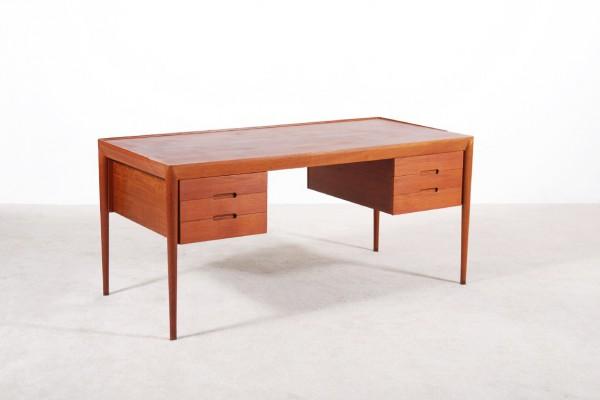 erik risager hansen haslev mobelfabrik desk teak danish 1950
