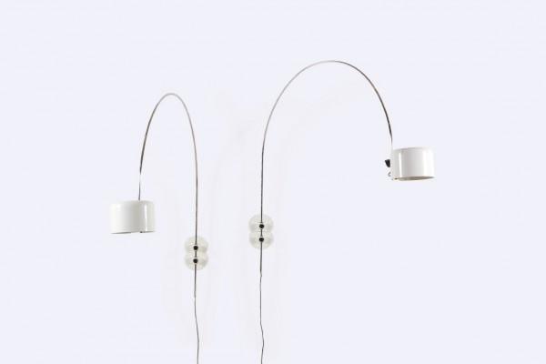 joe colombo appliques coupé oluce blanc lampe 1967 1968