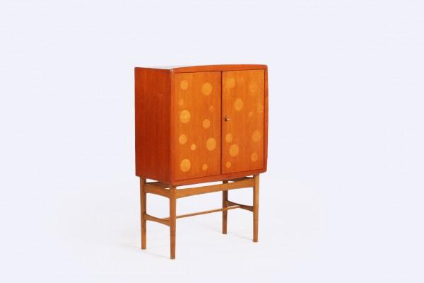 kurt ostervig kindt larsen teck chêne bar cabinet 1940 1950