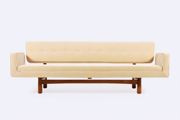 edward wormley dunbar sofa 5316 new york velvet kvadrat 1950